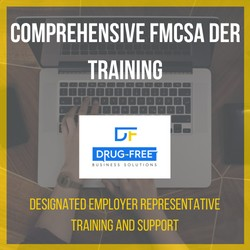 Comprehensive FMCSA DER Training CD Cover