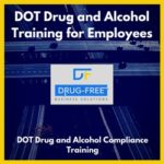DOT Drug and Alcohol Training Program for Employees CD Cover