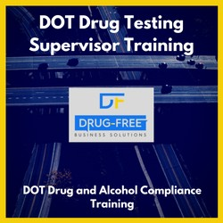 DOT Drug Testing Supervisor Training Program CD Cover