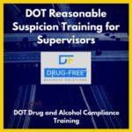 DOT Reasonable Suspicion Training for Supervisors CD Cover