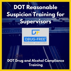 DOT Reasonable Suspicion Training for Supervisors CD Cover