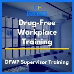 Drug-Free Workplace Training Program CD Cover