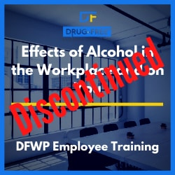Effects of Alcohol in the Workplace CD Cover