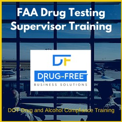 FAA Drug Testing Supervisor Training Program CD Cover
