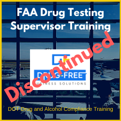 FAA Drug Testing Training CD cover