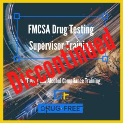 FMCSA Drug Testing Supervisor Training CD Cover