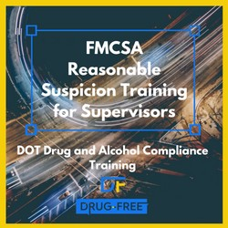 FMCSA Reasonable Suspicion Training for Supervisors CD Cover