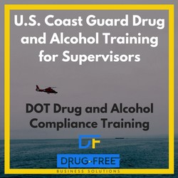U.S. Coast Guard Drug and Alcohol Training for Supervisors CD Cover