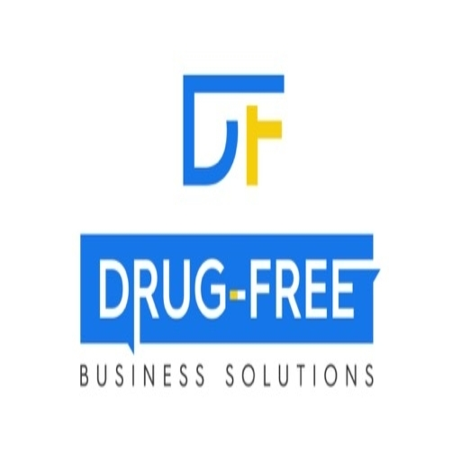 Drug Free Business Solutions Site Icon with monogram atop the title