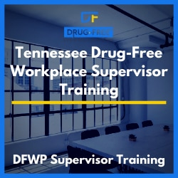 Tennessee Drug-Free Workplace Supervisor Training CD Cover