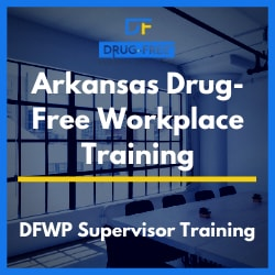 CD cover for Arkansas Drug-Free Workplace Supervisor Training Program