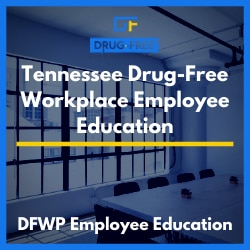 Tennessee Drug-Free Workplace Employee Education CD cover