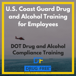 USCG drug and alcohol training CD cover photo